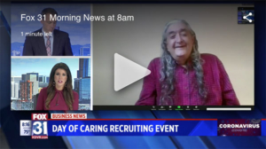 FOX31 Interview | Day of Caring - Rob Brazell